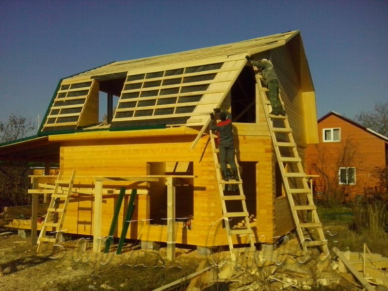 Фотоотчеты строительства своего дома своими руками